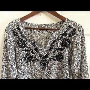 3/$30 Katies paisley light weight tunic